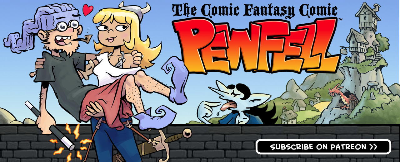 Pewfell--The Comic Fantasy Comic